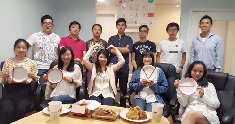 World Journal Interview Lovefoodies Team